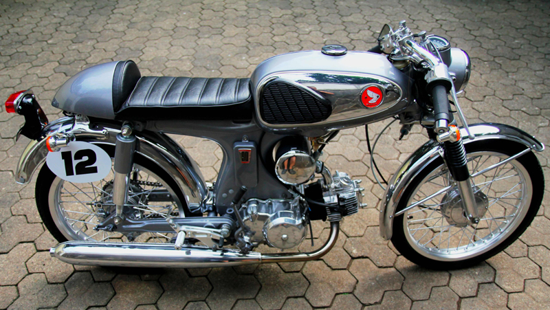 Honda S90 do caferacer dep - 3