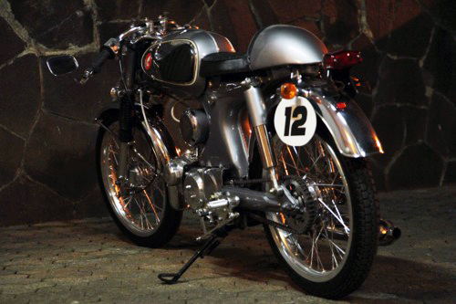 Honda S90 do caferacer dep - 5