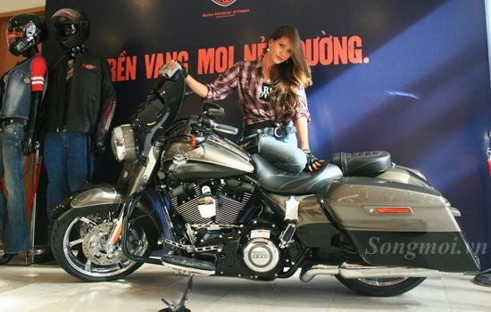 Ngam ban do chinh hang HarleyDavidson 2014