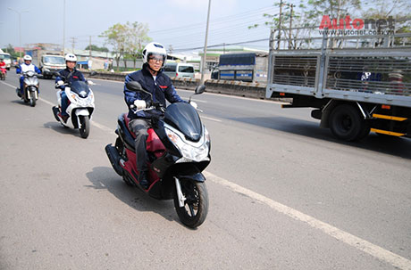 Voi eSP Scooter khong chi la xe thanh thi - 2