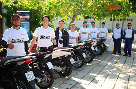Voi eSP Scooter khong chi la xe thanh thi - 5