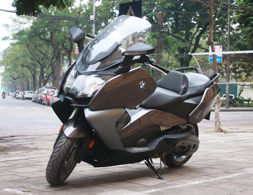 BMW dua ve Viet Nam mau scooter C650GT