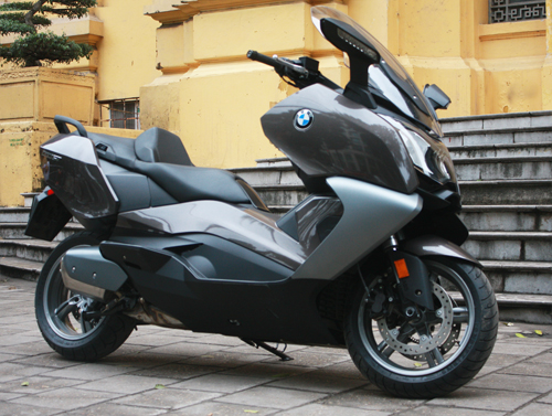 BMW dua ve Viet Nam mau scooter C650GT - 3