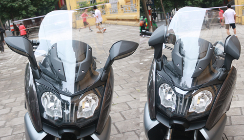 BMW dua ve Viet Nam mau scooter C650GT - 10