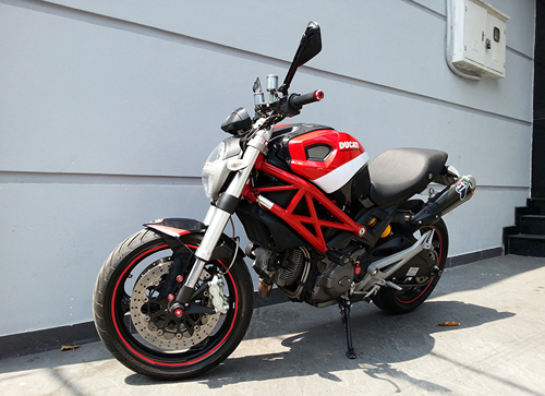 Ducati Monster 795 len do choi chat luong - 2