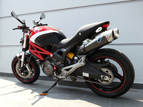 Ducati Monster 795 len do choi chat luong - 5