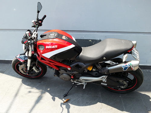 Ducati Monster 795 len do choi chat luong - 6