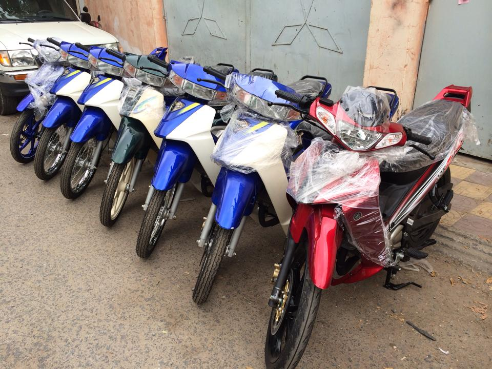 Hot Viet Nam vua nhap ve lo hang Suzuki Sport 110 va Ya Z new 100 - 2