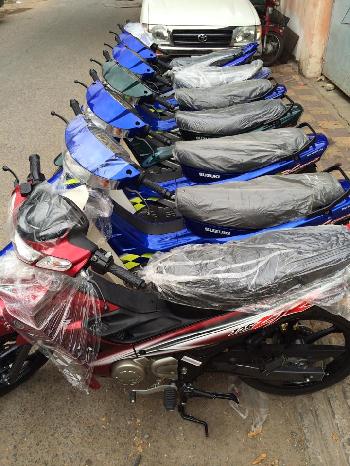 Hot Viet Nam vua nhap ve lo hang Suzuki Sport 110 va Ya Z new 100 - 3