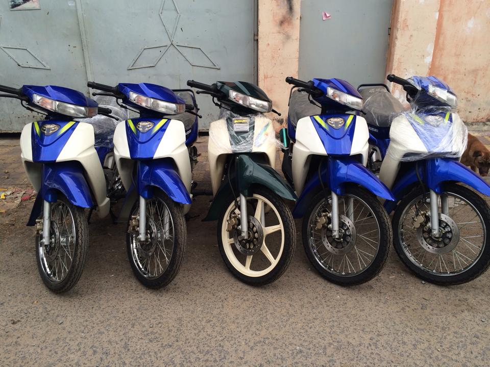 Hot Viet Nam vua nhap ve lo hang Suzuki Sport 110 va Ya Z new 100 - 5