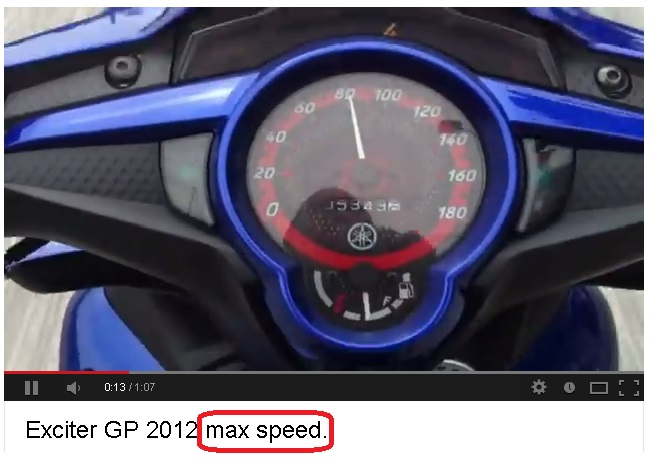 Max Speed va Top Speed