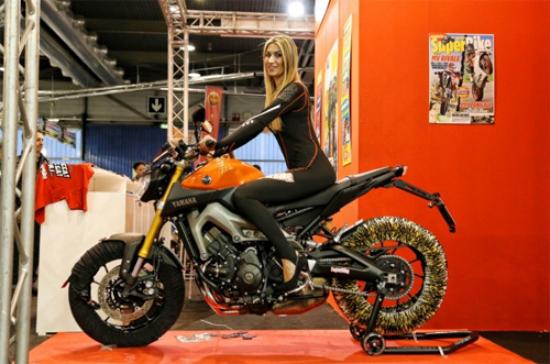 Moto va nguoi dep do o Motor Bike Expo 2014 - 10