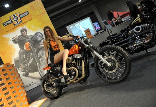 Moto va nguoi dep do o Motor Bike Expo 2014 - 11