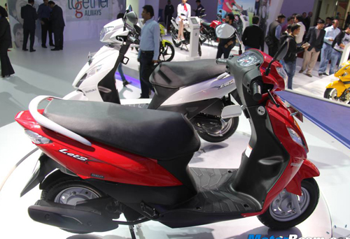 Suzuki ra mat xe Scooter co nho moi mang ten Lets