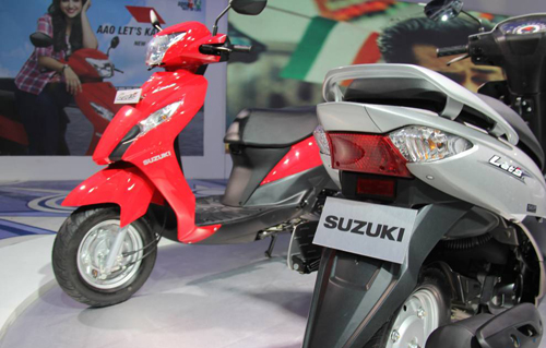 Suzuki ra mat xe Scooter co nho moi mang ten Lets - 3
