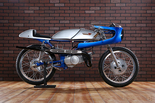 Suzuki Stinger T125 doi 1969 do cafe racer - 2