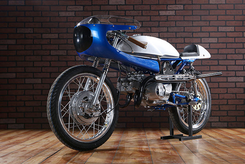 Suzuki Stinger T125 doi 1969 do cafe racer - 3