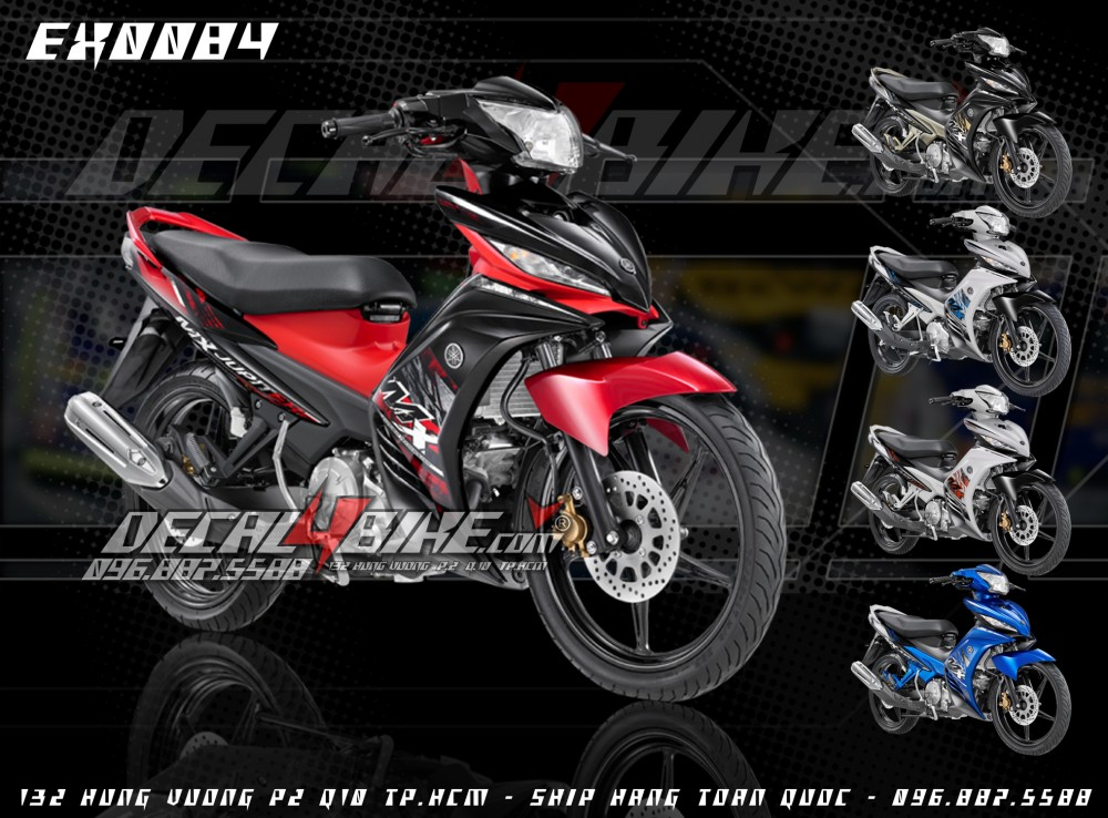 Tem Exciter MX2014 moi design tai Decal4bike - 2