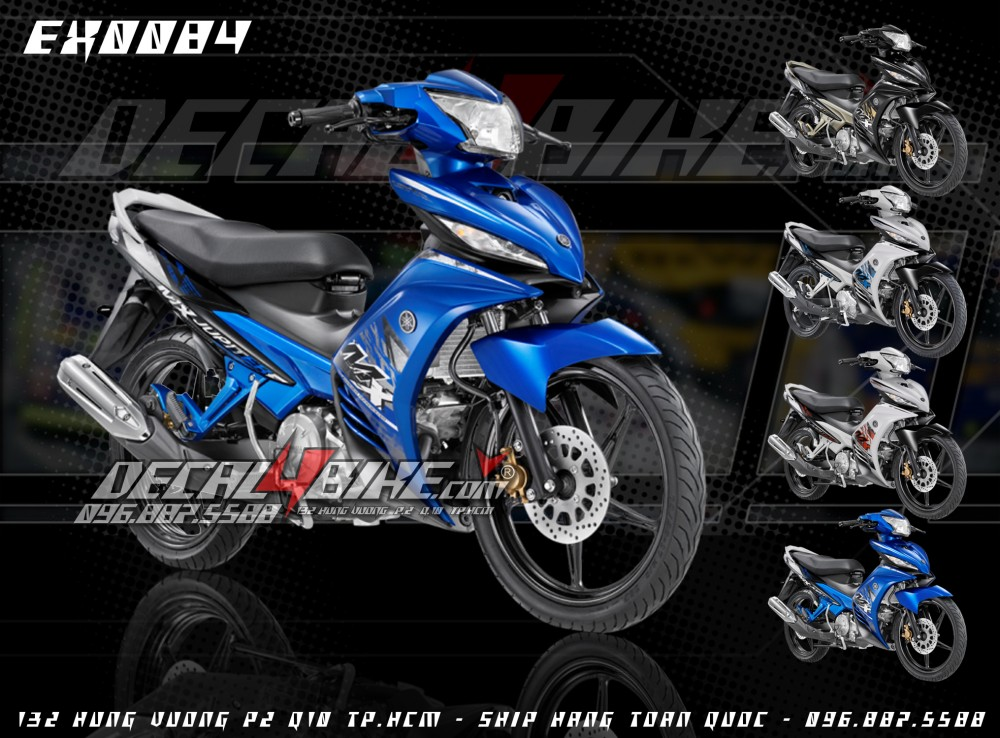 Tem Exciter MX2014 moi design tai Decal4bike - 4