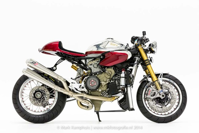 Chiec 1199 Panigale cua Ducati do caferacer