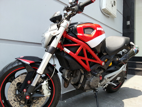 Ducati Monster 795 len do choi chat luong - 7