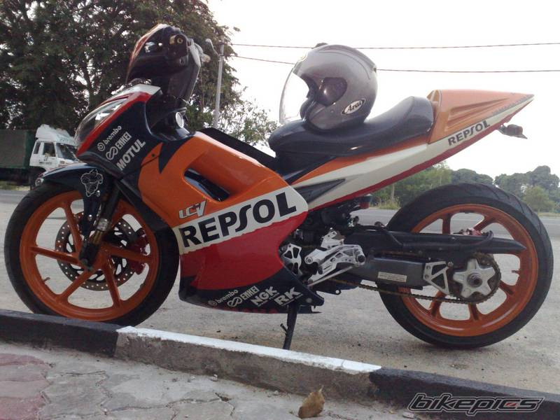 Exciter do phien ban Repsol