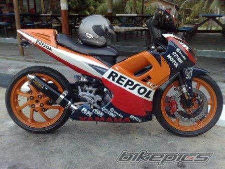 Exciter do phien ban Repsol - 2
