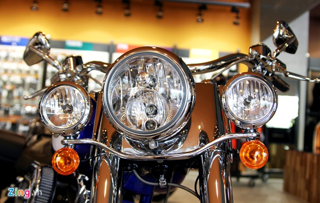 HarleyDavidson son thu cong gia 14 ty dong o Viet Nam - 7