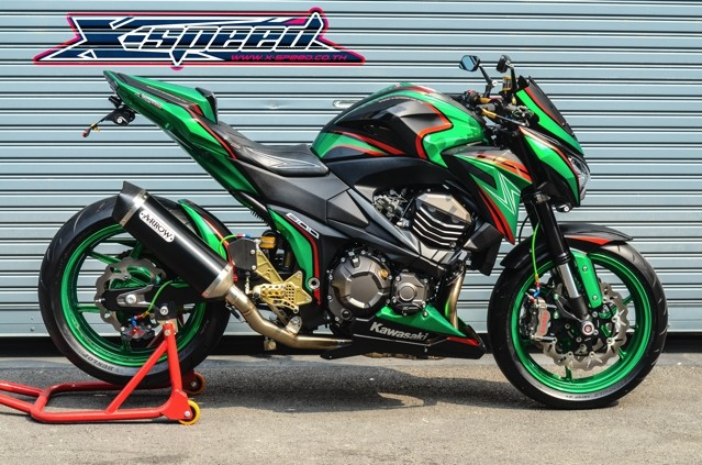 Kawasaki Z800 Full do choi