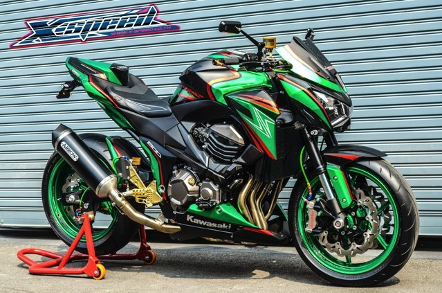 Kawasaki Z800 Full do choi - 2