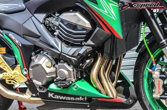 Kawasaki Z800 Full do choi - 10