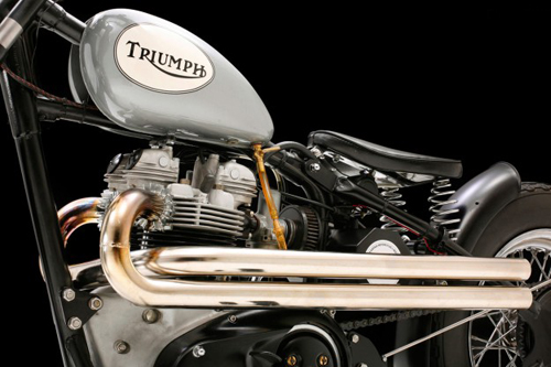 Triumph TR6 bobber Anh tren dat My - 2