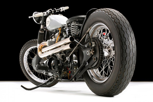 Triumph TR6 bobber Anh tren dat My - 4