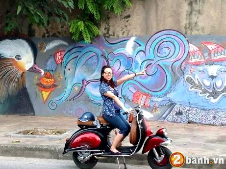 Vespa do net quyen ru cung Hot girl - 4