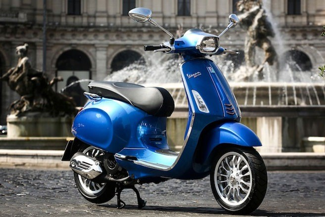Vespa Sprint thay the Vespa S co gi la - 4