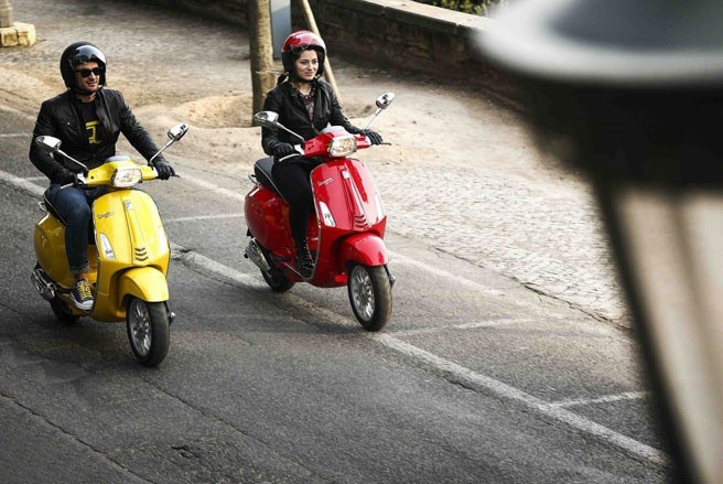 Vespa Sprint thay the Vespa S co gi la - 6