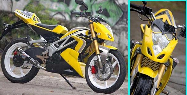 Naked Bike do cuc may Exciter
