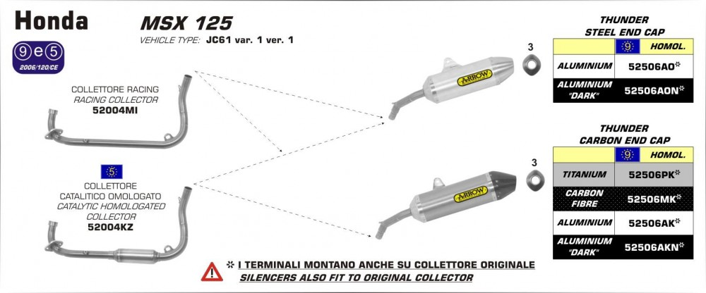 ARROW EXHAUST ITALY - 12