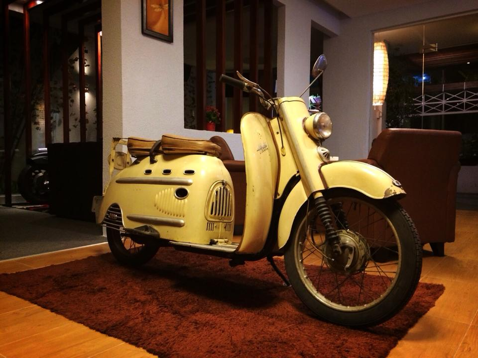 Audi Hobby 50cc 1955 scooter 2 thi co