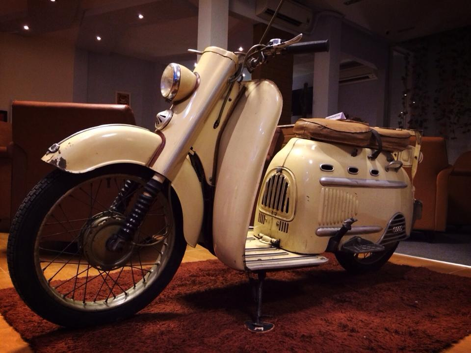Audi Hobby 50cc 1955 scooter 2 thi co - 2
