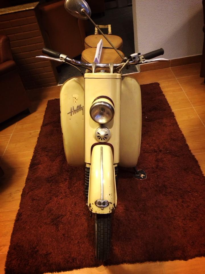 Audi Hobby 50cc 1955 scooter 2 thi co - 4