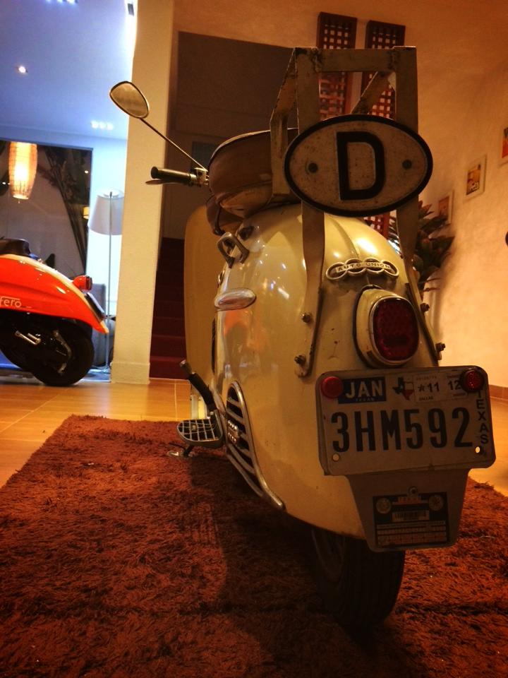 Audi Hobby 50cc 1955 scooter 2 thi co - 5