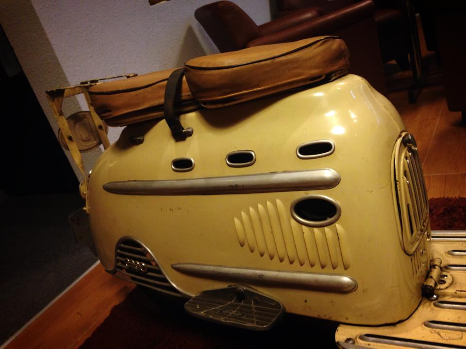 Audi Hobby 50cc 1955 scooter 2 thi co - 8