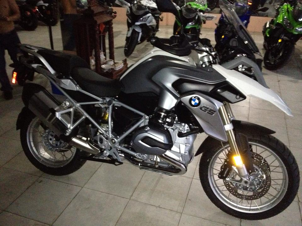 BMW R1200GS 2014 da ve den Sai Gon