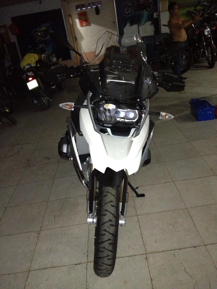 BMW R1200GS 2014 da ve den Sai Gon - 2