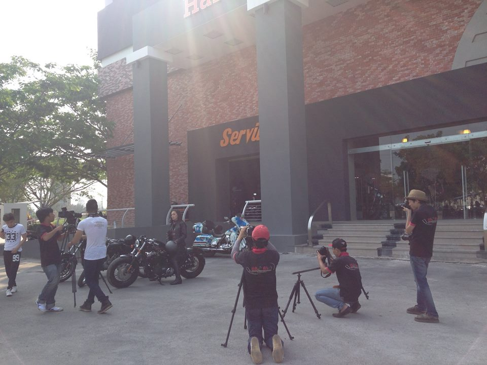 Ca si Tina Tinh chay HarleyDavidson Sportster FortyEight - 5