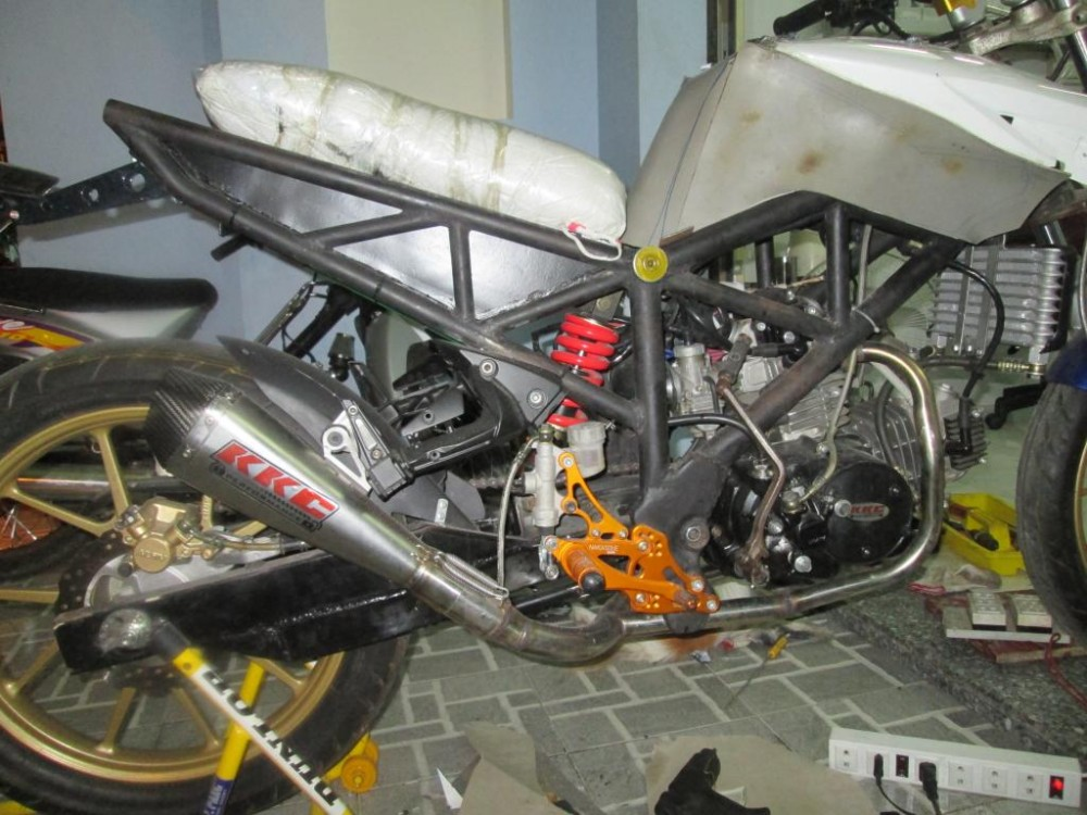 Can ban project Honda Vtwin 220cc Made by KhangKeihin gan hoan thien - 2