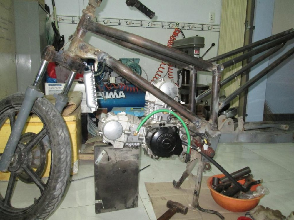 Can ban project Honda Vtwin 220cc Made by KhangKeihin gan hoan thien - 3
