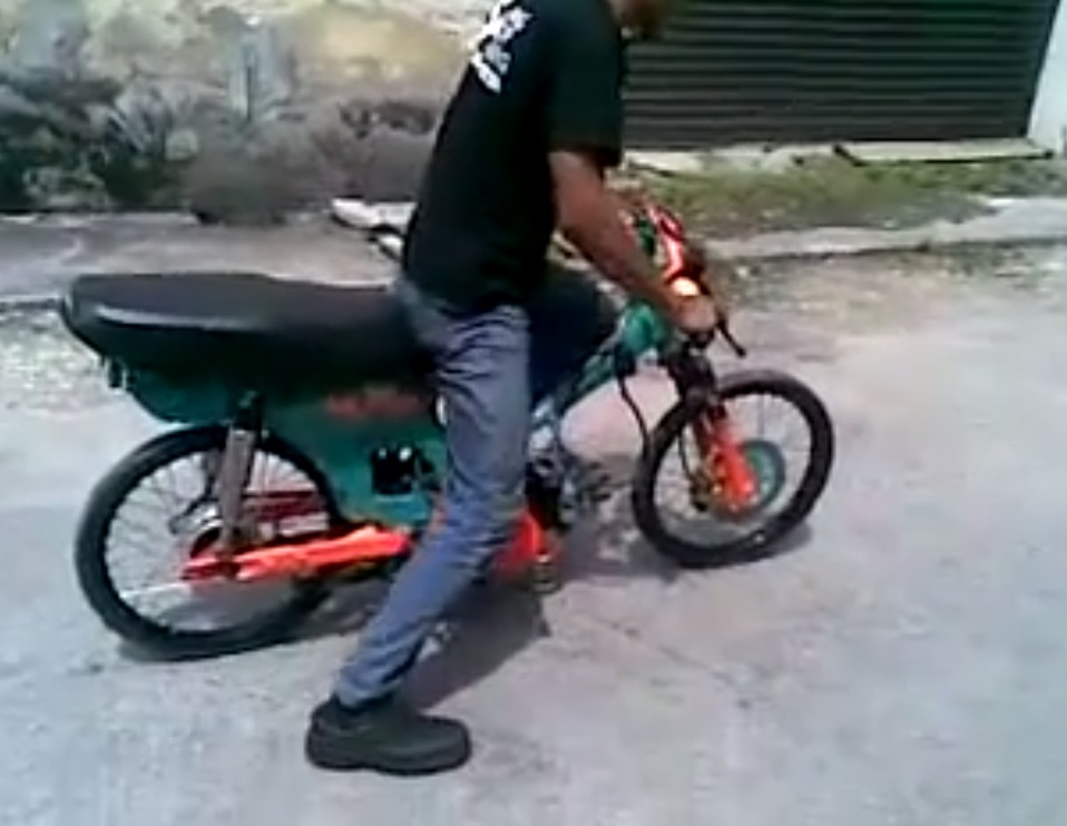 Clip Test honda dream chay drag