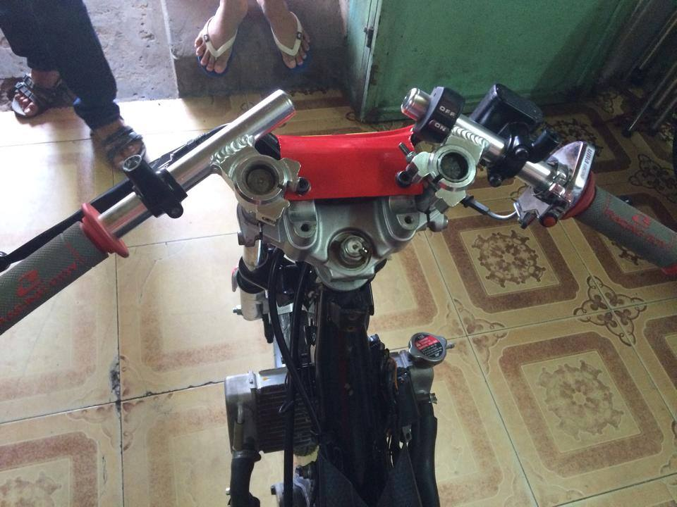 Exciter Drag 400m khung cua CLB Motopro Racing - 3